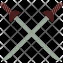 Cross Swords Fighting Icon
