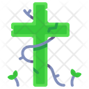 Cross Tombstone Icon