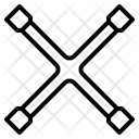 Cross Wrench Icon