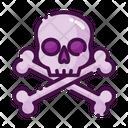 Crossbone Death Danger Icon