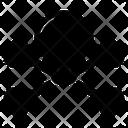 Crossbone Skull Danger Icon