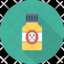 Crossbone Danger Death Icon