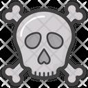 Crossbones Skeleton Halloween Icon