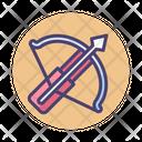 Crossbow Arrow Bow Icon