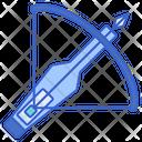 Crossbow Arrow Archery Icon