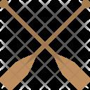 Crossed Oars Icon