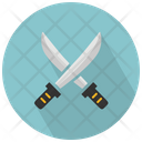 Crossed Swords Set Icon