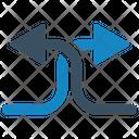 Arrows Crosses Arrow Icon