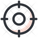 Crosshair Target Goal Icon