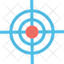 Crosshair Focus Focus Button Icon