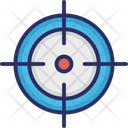Crosshair Optical Sight Reticle Icon