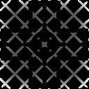 Crosshair Reticle Target Icon
