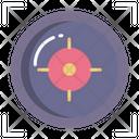 Crosshair Bullseye Target Icon