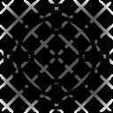 Crosshair Focus Precision Icon