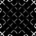 Crosshair Focus Bullseye Icon