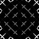 Crosshair Target Aim Icon