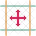 Crosshair Crosshair Reticle Point Icon