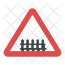 Level Crossing Gates Icon