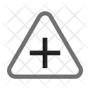 Crossing Sign Traffic Icon
