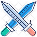 Crossing Sword Weapon War Blade Icon