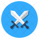 Crossing Swords War Symbol Weapon Icon