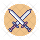Crossing Swords Crossing Fighting Game Icon