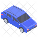 Crossover Car Vehicle Transport Icon