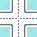 Crossroad Cross Tourism Icon