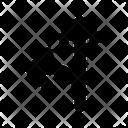 Crossroad Left Arrows Icon