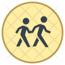 Crosswalk Sign Icon