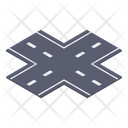 Crossway Road Road Intersection Crossroads Icon