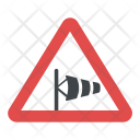 Crosswind Sign Icon