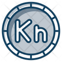 Crotian Kuna Currency Coin Icon