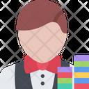 Croupier Casino Gambling Icon