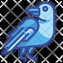 Crow Raven Bird Icon