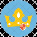Crow Shield Crown Icon
