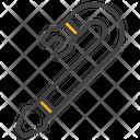 Crowbar Burglary Crime Icon