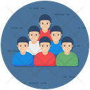 Crowd People Group Icon