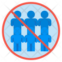 Crowd Density Overpopulation Icon