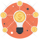 Crowdfunding Idea Innovation Icon