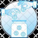 Crowdfunding Icon