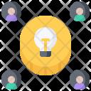 Crowdfunding Money Idea Icon