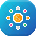 Crowdfunding Finance Investment Icon