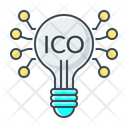 Crowdfunding Cryptocurrency Fintech Icon