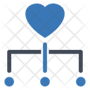 Charity Donation Crowdfunding Icon