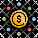 Crowdfunding Business Exchange Icon