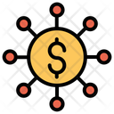 Crowdfunding Dollar Icon
