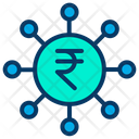 Rupees Funding Crowdfunding Funding Icon