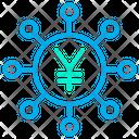 Yen Funding Crowdfunding Funding Icon