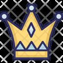 Crown Headgear Nobility Icon
